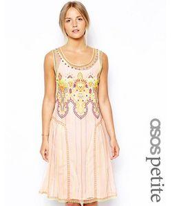 ASOS PETITE | Свободное Платье С Вышивкой Эксклюзивно Для