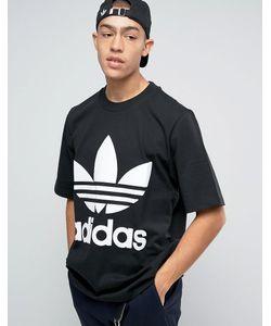 adidas Originals | Свободная Черная Футболка Ac Bk7175