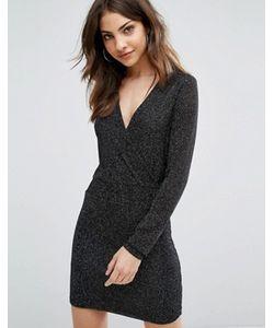 Wal G | Облегающее Платье С Длинными Рукавами