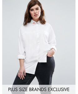 Daisy Street Plus | Рубашка С Принтом Поцелуй