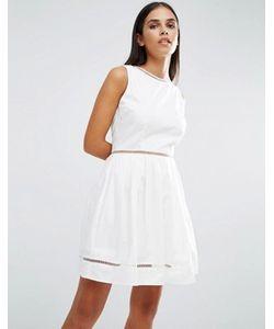 AX Paris | Короткое Приталенное Платье Со Вставками