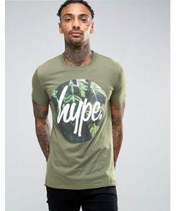 HYPE | Футболка С Логотипом В Круге