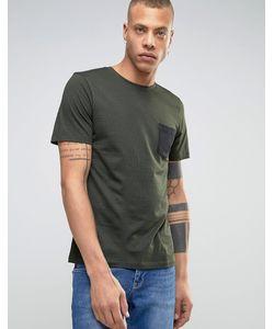 Produkt | T-Shirt With Contrast Pocket