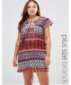 Diya | Цельнокройное Платье С Принтом Пейсли Plus