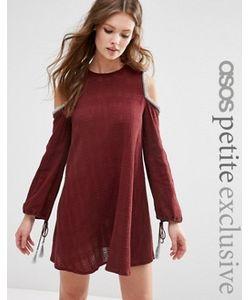 ASOS PETITE | Платье С Открытыми Плечами И Кисточками