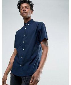 Troy | Поплиновая Рубашка С Коротким Рукавом