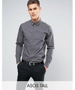 Asos | Темно Рубашка Классического Кроя Tall