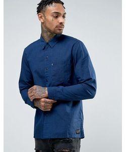 Levis Line 8 | Синяя Рубашка С Карманом Levis Line 8