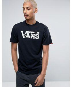 Vans | Черная Футболка V002ogkp1