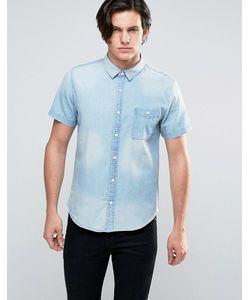 Another Influence | Выбеленная Джинсовая Рубашка