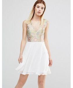 AX Paris | Платье С Vобразным Вырезом Спереди
