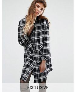 Seint | Платье-Рубашка В Клетку
