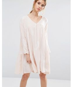 Little White Lies | Платье С Присборенной Юбкой Isla