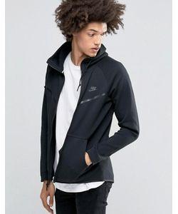 Nike | Черная Флисовая Ветровка Tech 805144-010