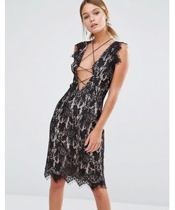 Style Stalker | Кружевное Платье Без Рукавов Stylestalker