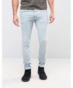 Pepe Jeans | Выбеленные Зауженные Джинсы Pepe Finsbury