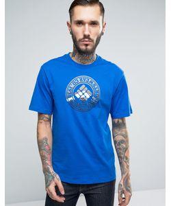 Columbia | Синяя Футболка С Логотипом Tried True