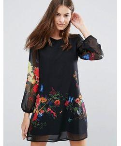 Yumi | Платье-Туника С Цветочным Принтом