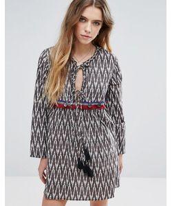 Glamorous | Платье С Принтом Икат