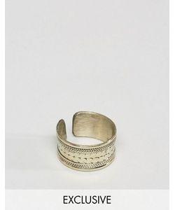 Reclaimed Vintage | Золотистое Кольцо С Гравировкой Inspired