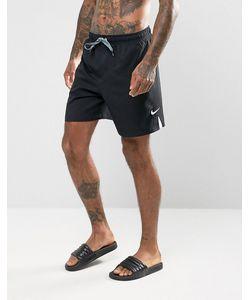 Nike | Черные Шорты Для Плавания С Логотипом-Галочкой Ness7424001