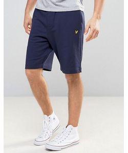 Lyle&Scott | Lyle Scott Sweat Shorts Regular Fit Eagle Logo In Navy