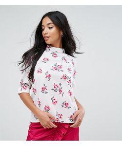 Fashion Union Petite   Блузка С Цветочным Принтом