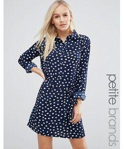 Yumi Petite | Платье-Рубашка В Горошек