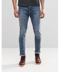 Nudie Jeans Co | Супероблегающие Джинсы Скинни Nudie Pipe Led Granum