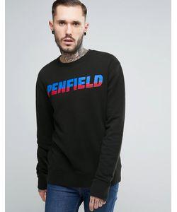 Penfield | Свитшот В Стиле 80-Х С Круглым Вырезом И Логотипом