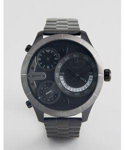 Police | Часы С Черным Многофункциональным Циферблатом
