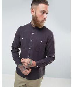 Asos | Темно Рубашка Классического Кроя С Воротником На Пуговице