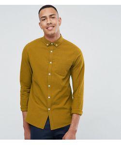 Asos | Фактурная Рубашка Классического Кроя С Карманом Tall