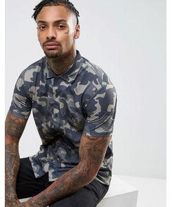 Brooklyn Supply Co. | Рубашка С Короткими Рукавами И Камуфляжным Принтом Brooklyn Supply Co