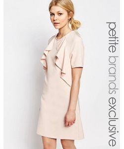 Alter Petite | Цельнокройное Платье С Короткими Рукавами