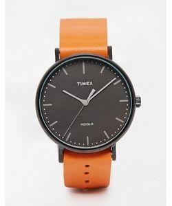 Timex | Часы Со Светло-Коричневым Ремешком Weekender Fairfield Tw2p91400