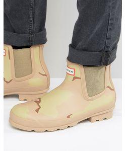 Hunter | Ботинки Челси С Камуфляжным Принтом Original