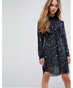 Samsøe & Samsøe | Платье-Рубашка С Принтом Samsoe Samsoe Molly