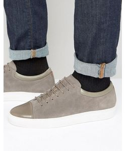Hugo | By Boss Toe Cap Suede Trainers