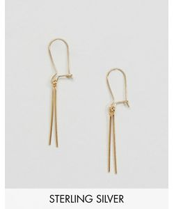 Asos | Позолоченные Серебряные Серьги