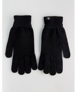 PS PAUL SMITH | Черные Перчатки Из Мериносовой Шерсти