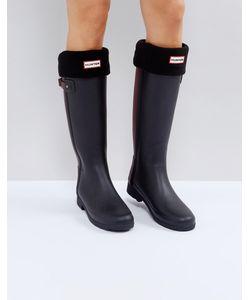 Hunter   Черные Толстые Носки Original