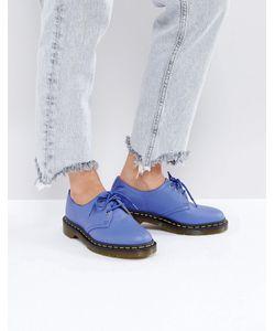 Dr. Martens | Кожаные Туфли На Плоской Подошве Со Шнуровкой 1461