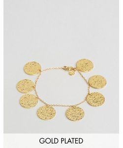gorjana | Позолоченный Браслет С Монетками