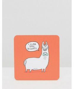 OHH DEER | Подставка Под Напитки Llama