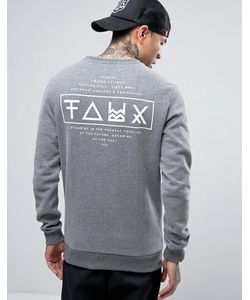 Friend or Faux | Limitless Back Print Sweat