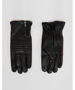 Selected Homme | Кожаные Перчатки