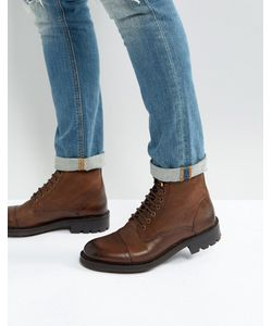WALK London | Кожаные Ботинки На Шнуровке Sean