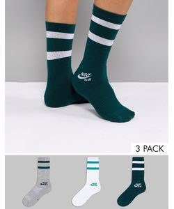 Nike | 3 Пары Носков Sb