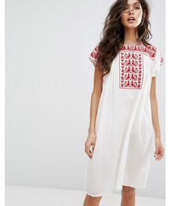 Star Mela | Платье-Туника С Вышивкой Lori